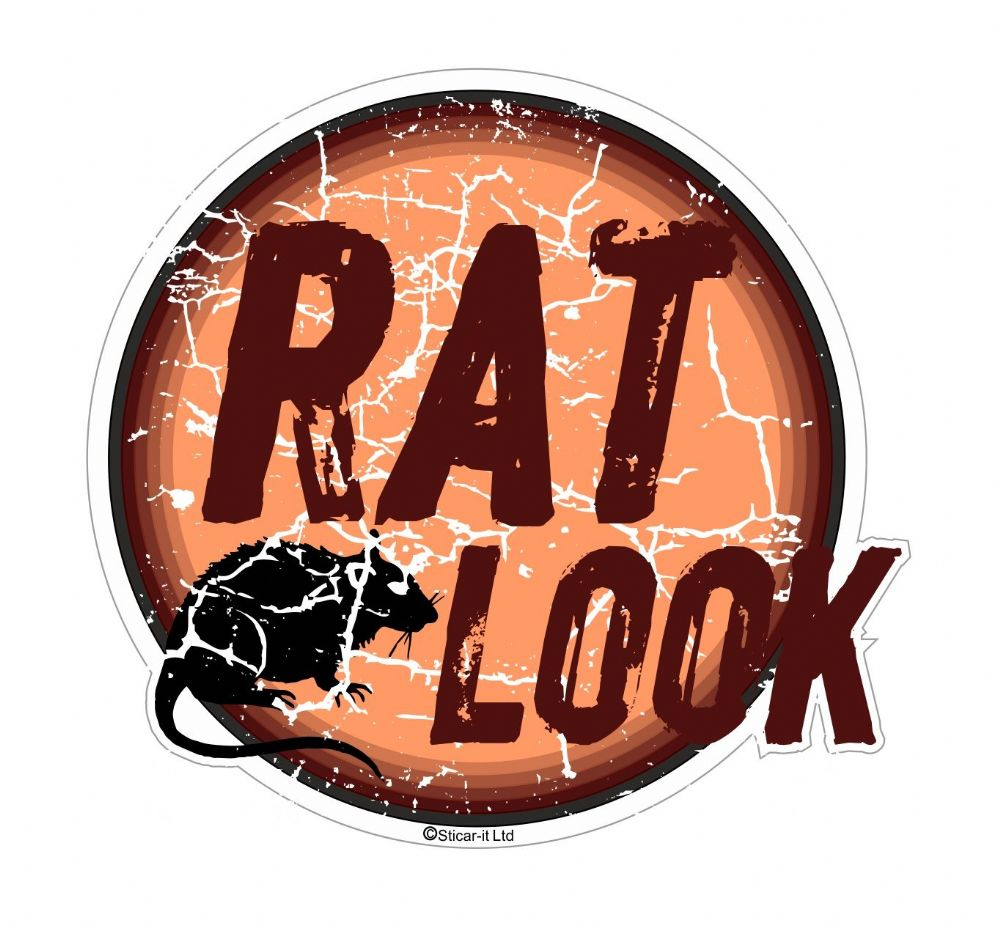 Distressed Aged Rat Look Circular Design For Rat Look Vw